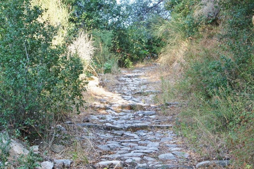 Agios Konstantinos: over oude paden de bergen in