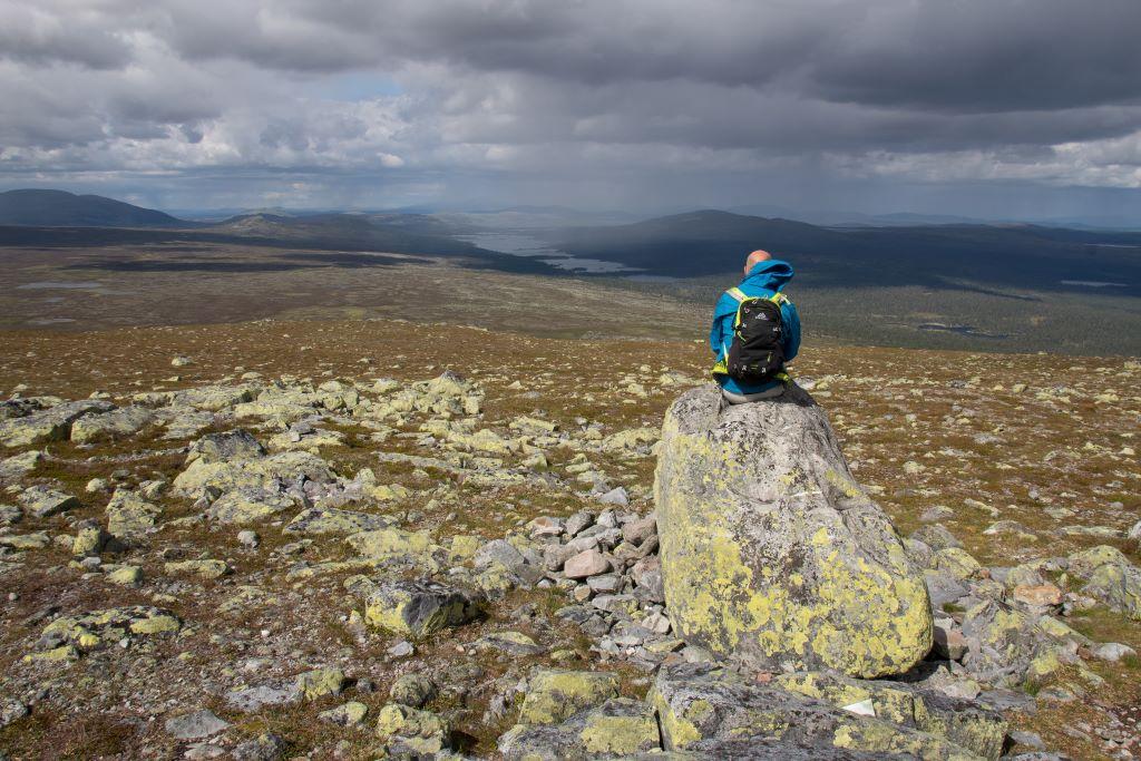 Storvätteshågna, de hoogste bergtop van Dalarna
