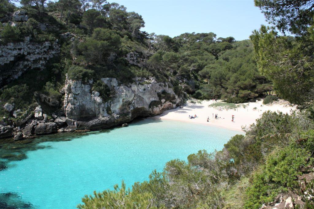 Cala Macarelleta, de mooiste baai van Menorca