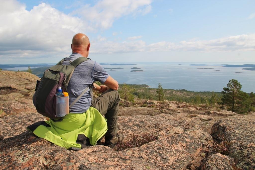 Högakustenleden, wandelen langs de Zweedse hoge kust