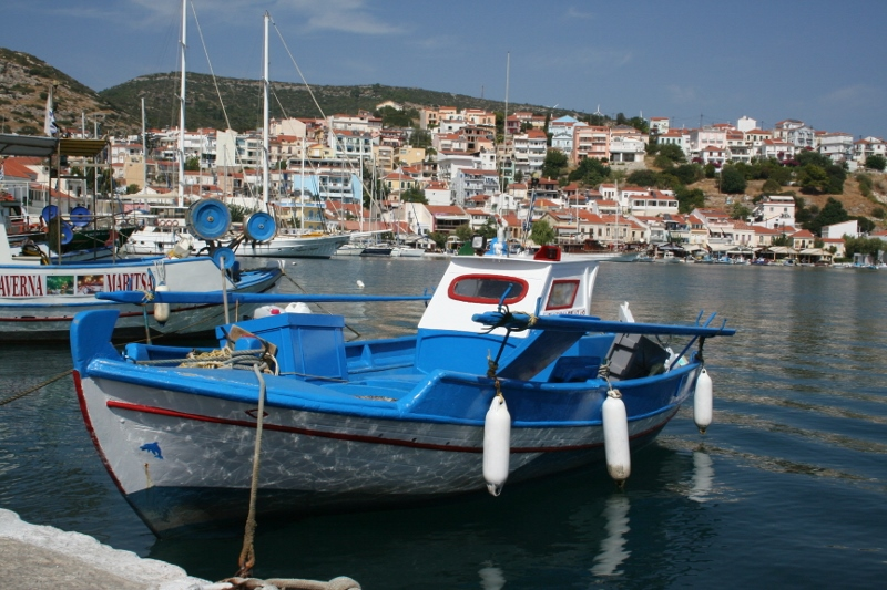 Pythagorio: het oudste stukje Samos